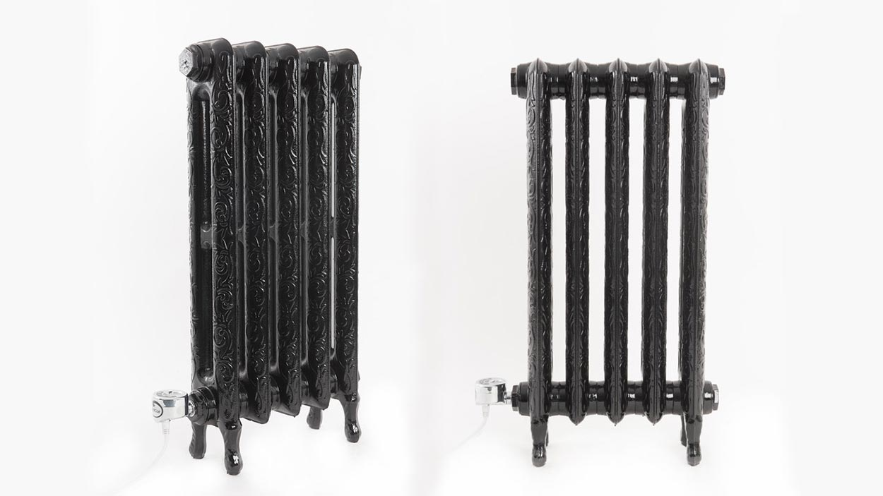 Electricast Art Nouveau Cast Iron Radiator 300w