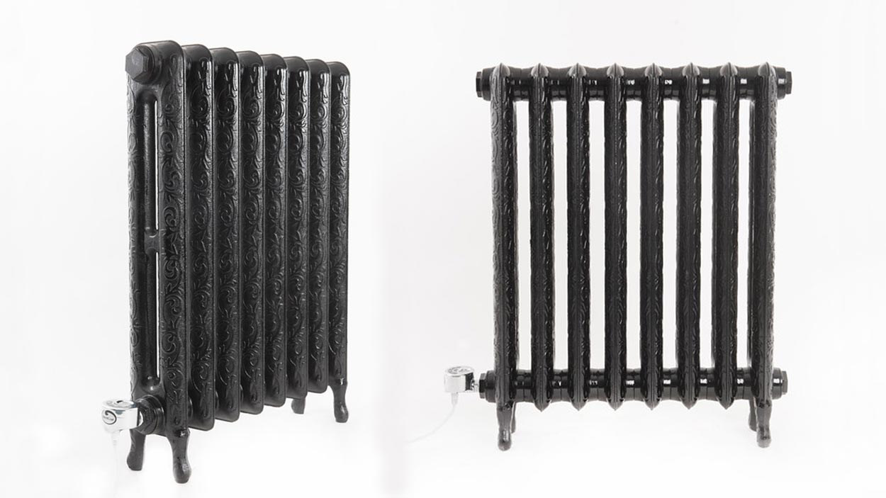 Electricast Art Nouveau Cast Iron Radiator 900w