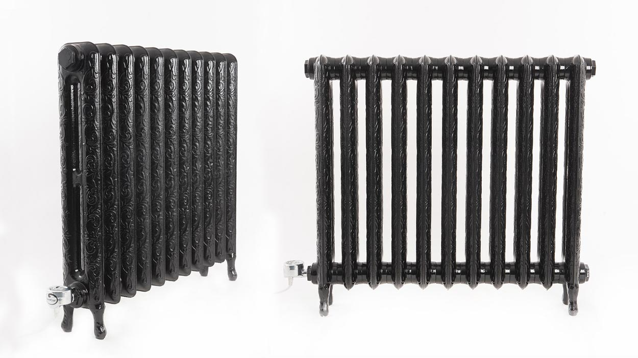 Electricast Art Nouveau Cast Iron Radiator 600w