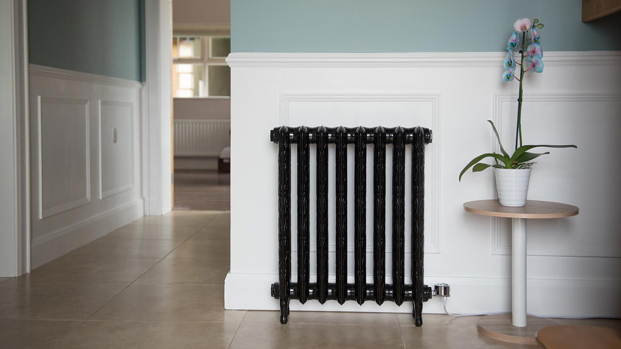Electricast Art Nouveau Cast Iron Radiator